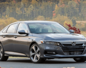 2018 Honda Accord Front View