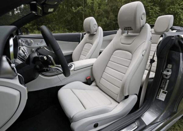 2018-Mercedes-Benz-Cabriolet-seats-review 2018 Mercedes-Benz C300 Cabriolet