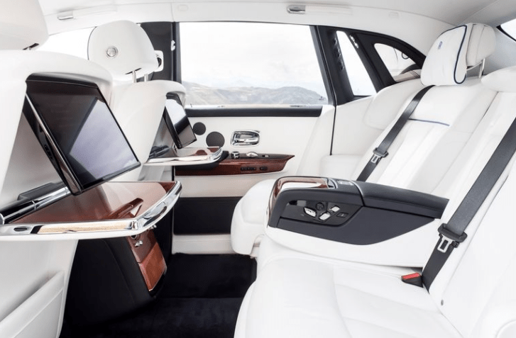 2018 Rolls Royce Phantom VIII Seats View