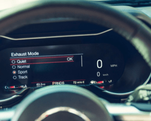2018 Ford Mustang Speedometer View