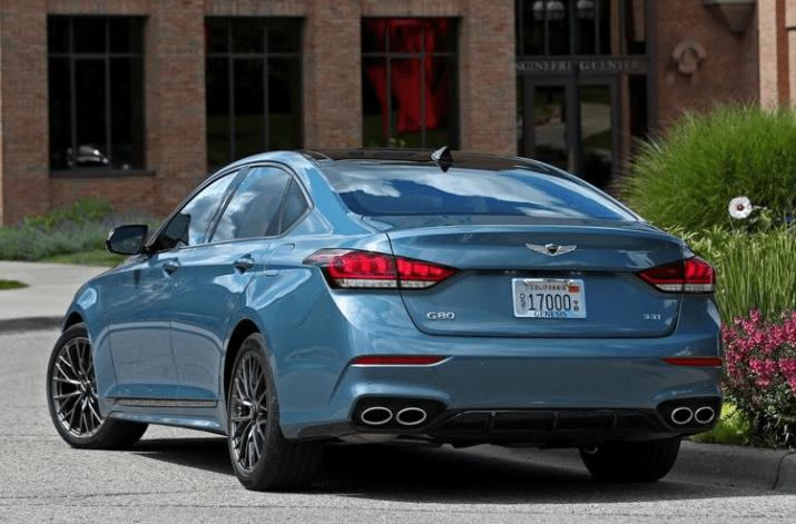 2018 Genesis G80 Sport Rear View