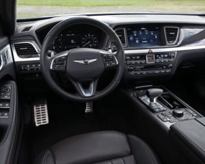 2018 Genesis G80 Sport Steering View