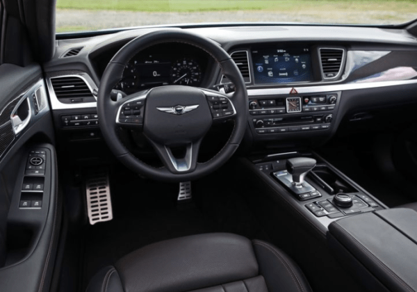 2018 Genesis G80 steering review