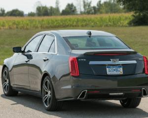 2018 Cadillac CTS Rear View