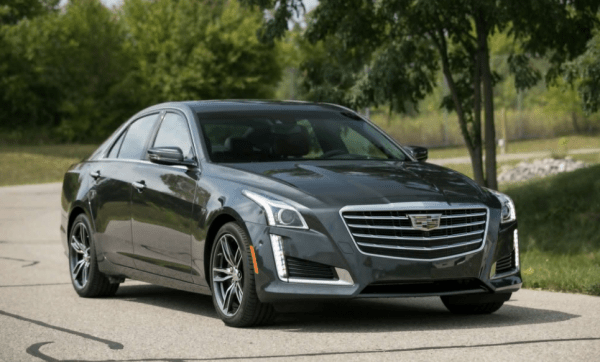 2018 Cadillac CTS front review