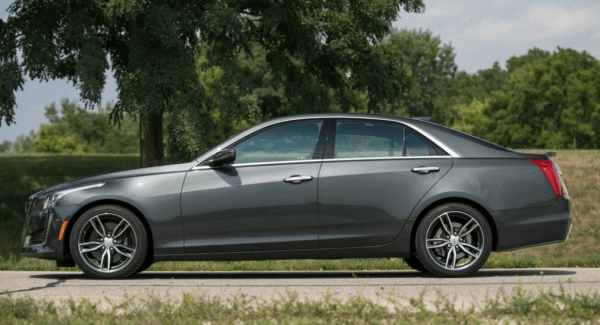 2018 Cadillac CTS side review