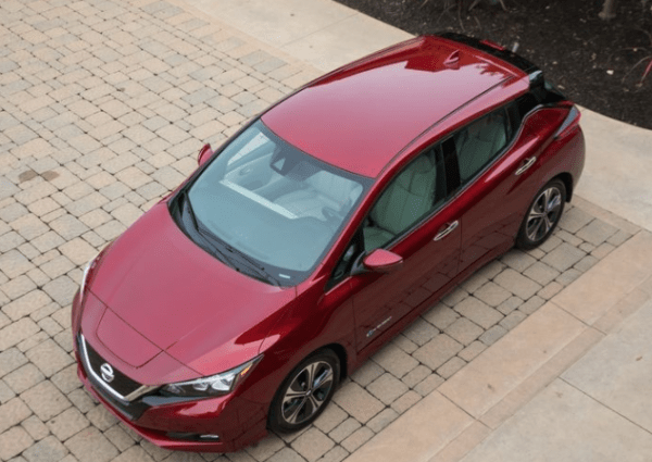 2018 Nissan Leaf top review