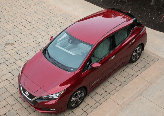 2018 Nissan Leaf Top View