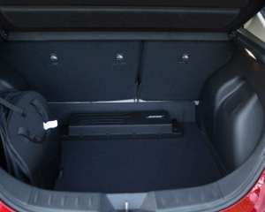 2018 Nissan Leaf Cargo Storage View