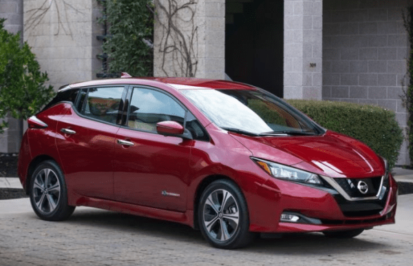 2018 Nissan Leaf Front review