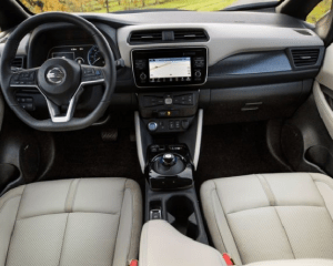2018 Nissan Leaf steering review