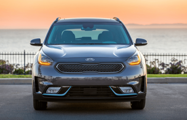 2018 kia niro plug in hybrid front grille review