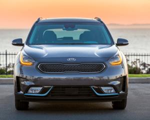 2018 Kia Niro Plug in Hybrid Front Grille View
