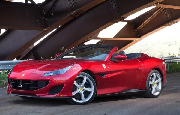 2018 Ferrari Portofino front review exterior