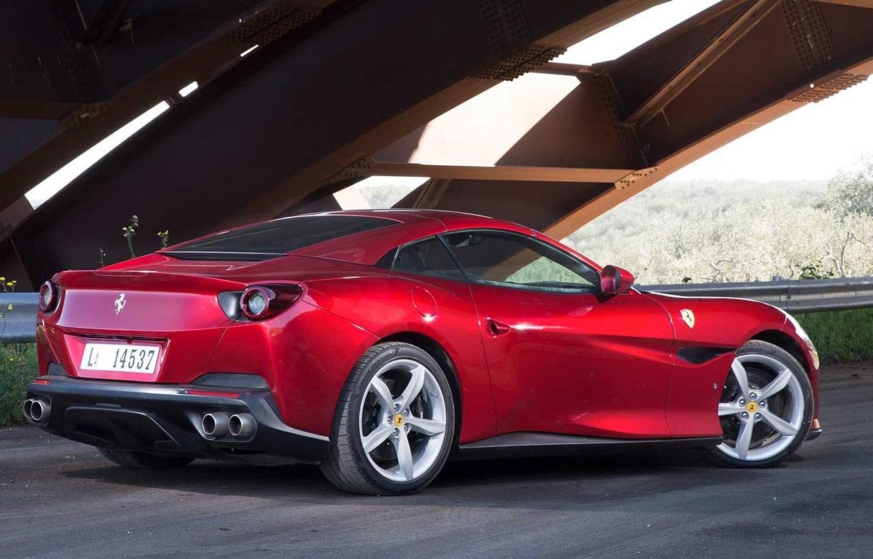 2018 Ferrari Portofino Side View