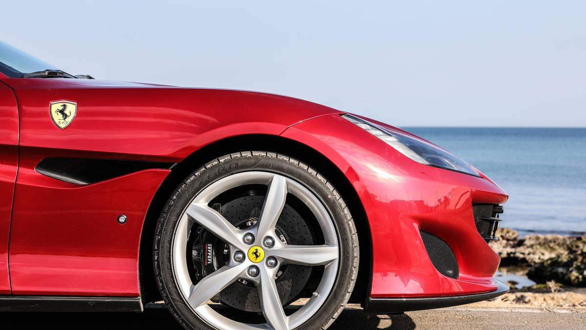 2018 Ferrari Portofino Wheels View