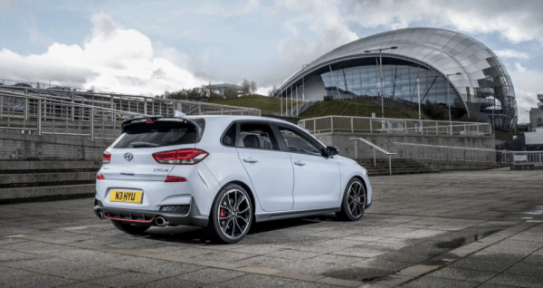 2018 Hyundai i30 N rear review