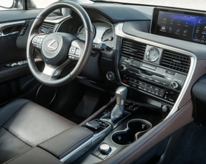 2018 Lexus RX350L Dashboard View