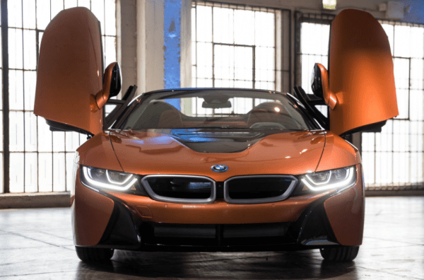 2019 BMW i8 Exterior door review