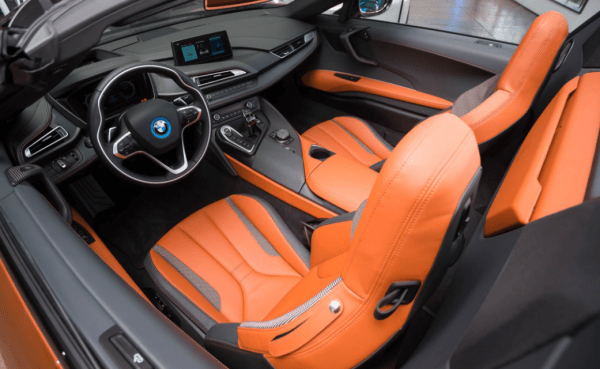 2019 BMW i8 interior review seats