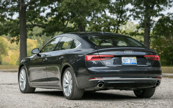 2018 Audi A5 back review