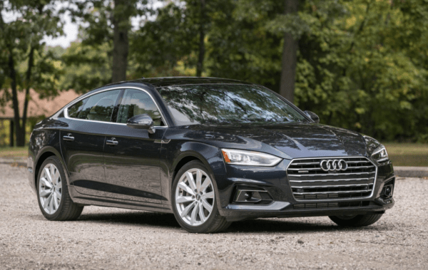 2018 Audi A5 front review
