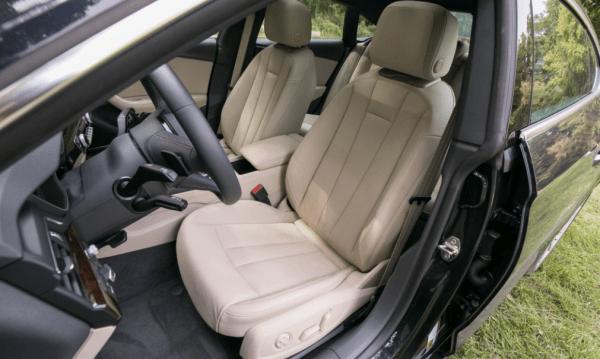2018 Audi A5 seat review