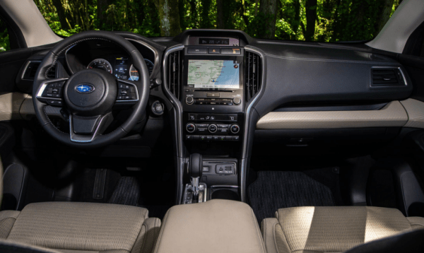 2019 Subaru Ascent dashboard review