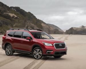 2019 Subaru Ascent Front Side View