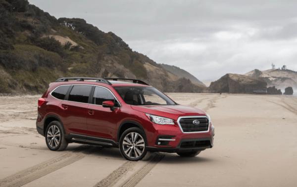 2019 Subaru Ascent Front side exterior review