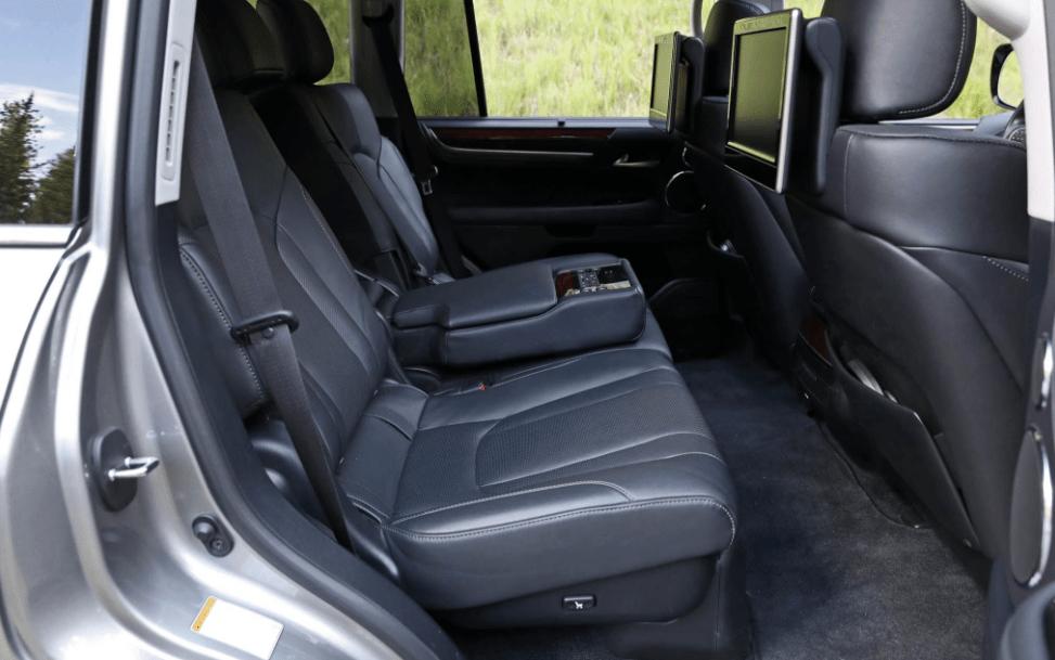 2018 Lexus LX570 Rear Seat View
