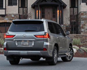 2018 Lexus LX570 Rear View