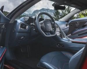 2019 Aston Martin DBS Superleggera Steering View