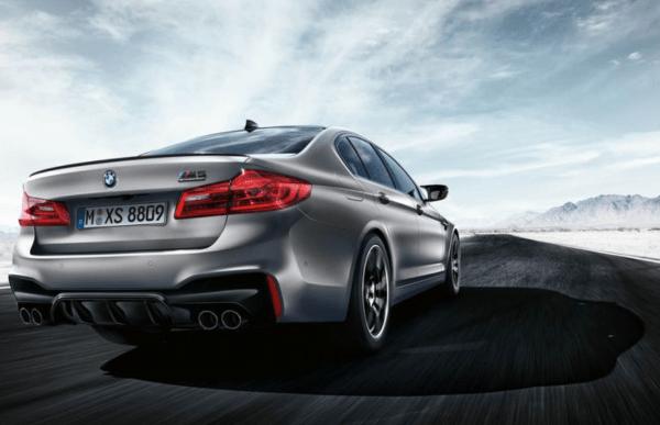 BMW M5 2019 Rear review