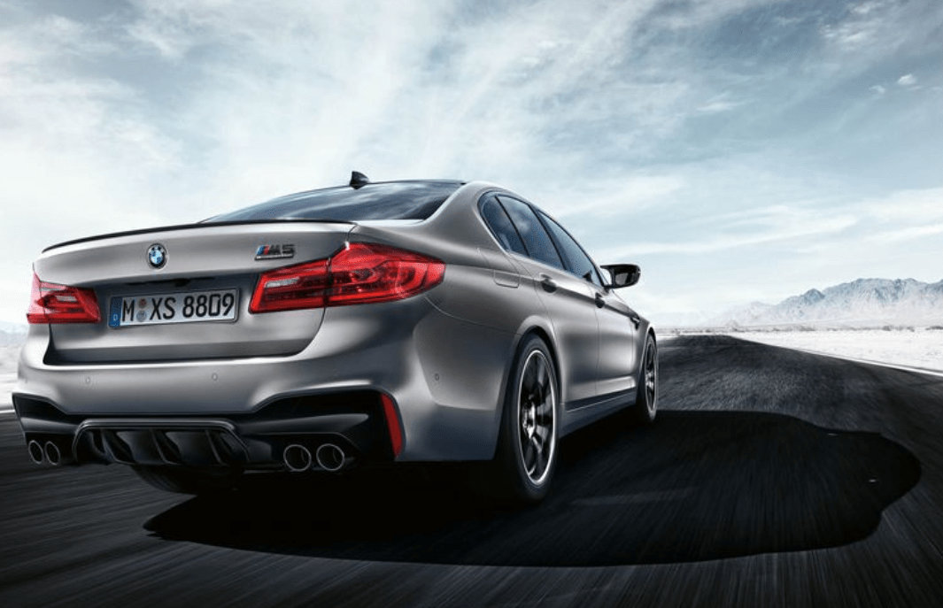 2019 BMW M5 Rear View