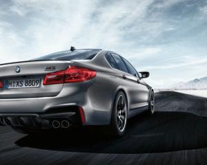2019 BMW M5 Rear View