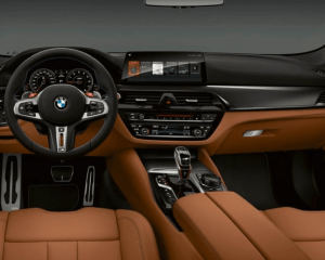 2019 BMW M5 Dashboard View