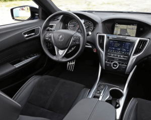 2019 Acura TLX Steering Dashboard View
