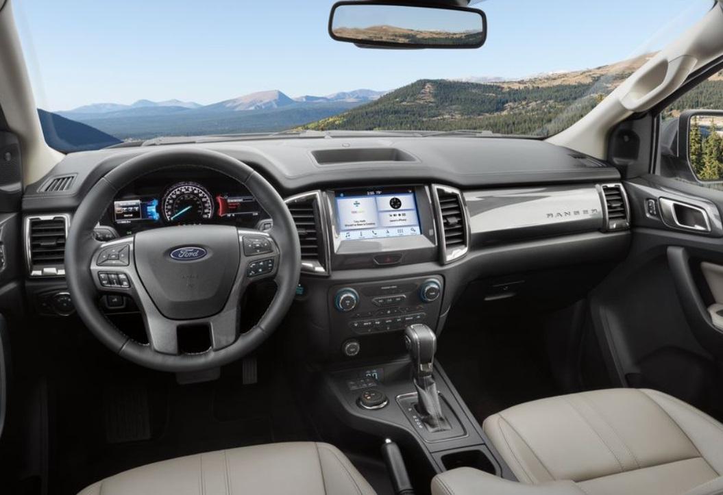 2019 Ford Ranger interior review