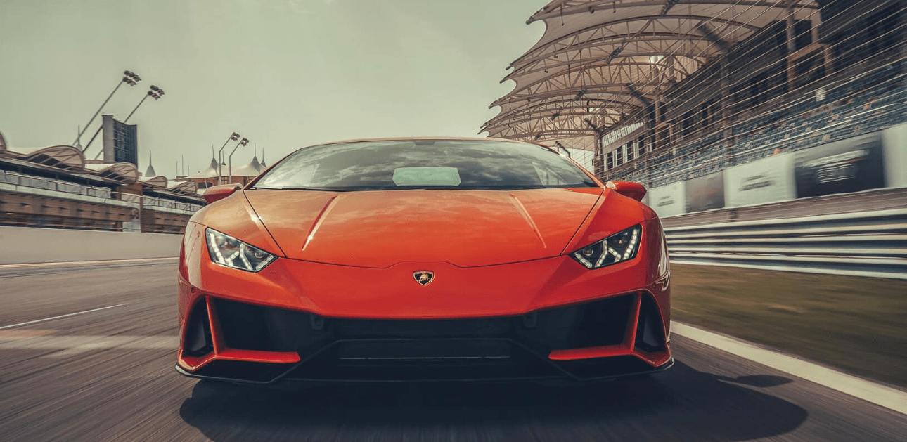 2020 Lamborghini Huracan Evo Front View