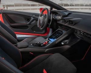 2020 Lamborghini Huracan Evo Seats View