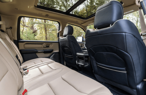 2019 Ram 1500 rear seats review