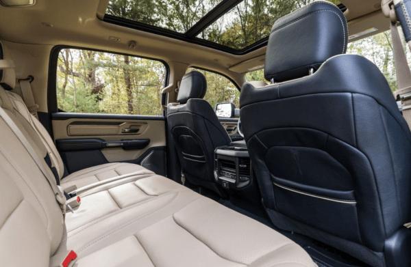 2019 Ram 1500 rear seats review