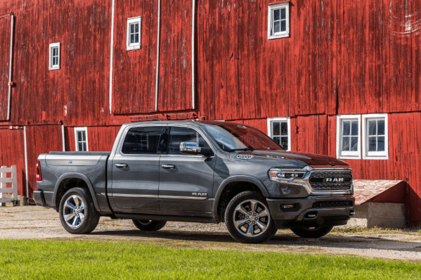 2019 Ram 1500 front review