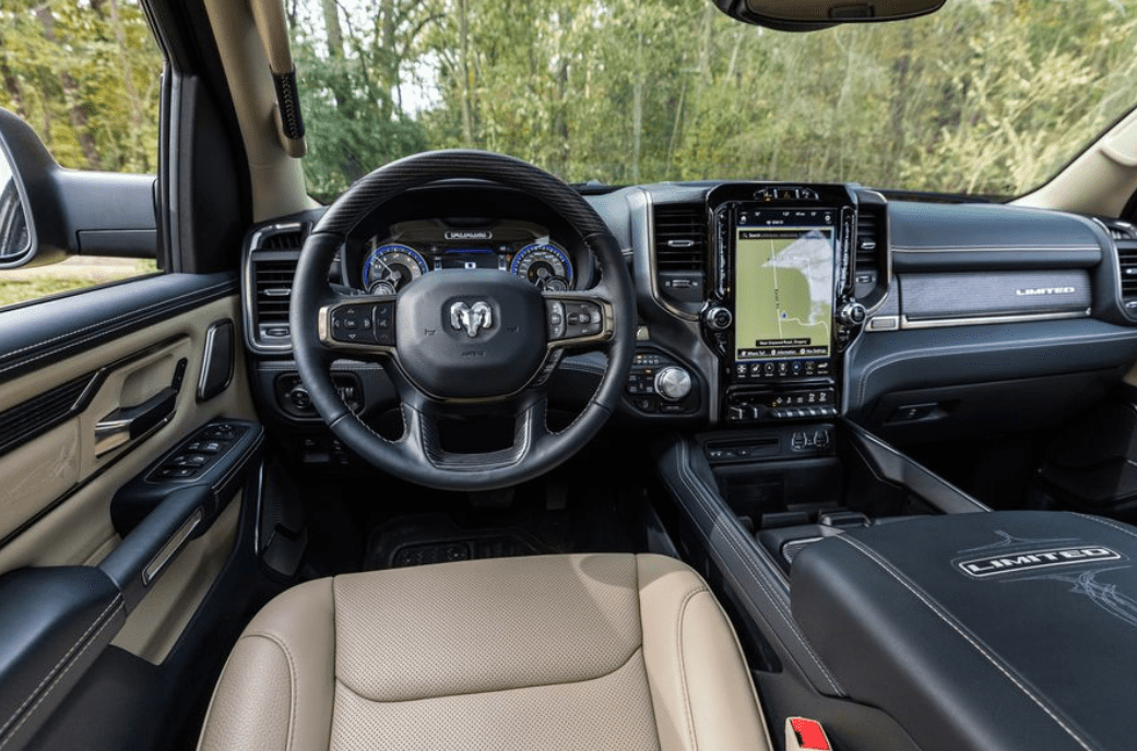 2019 Ram 1500 steering review