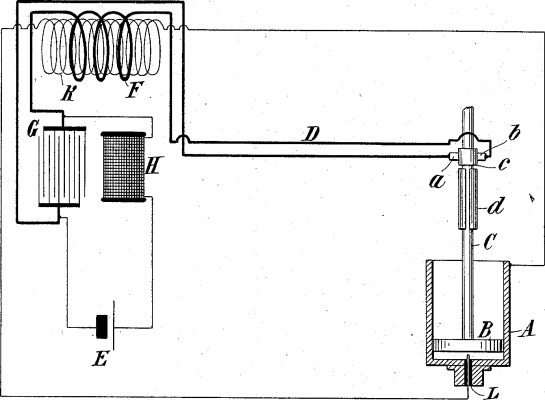 patent drawing of capacitive discharge ignition system