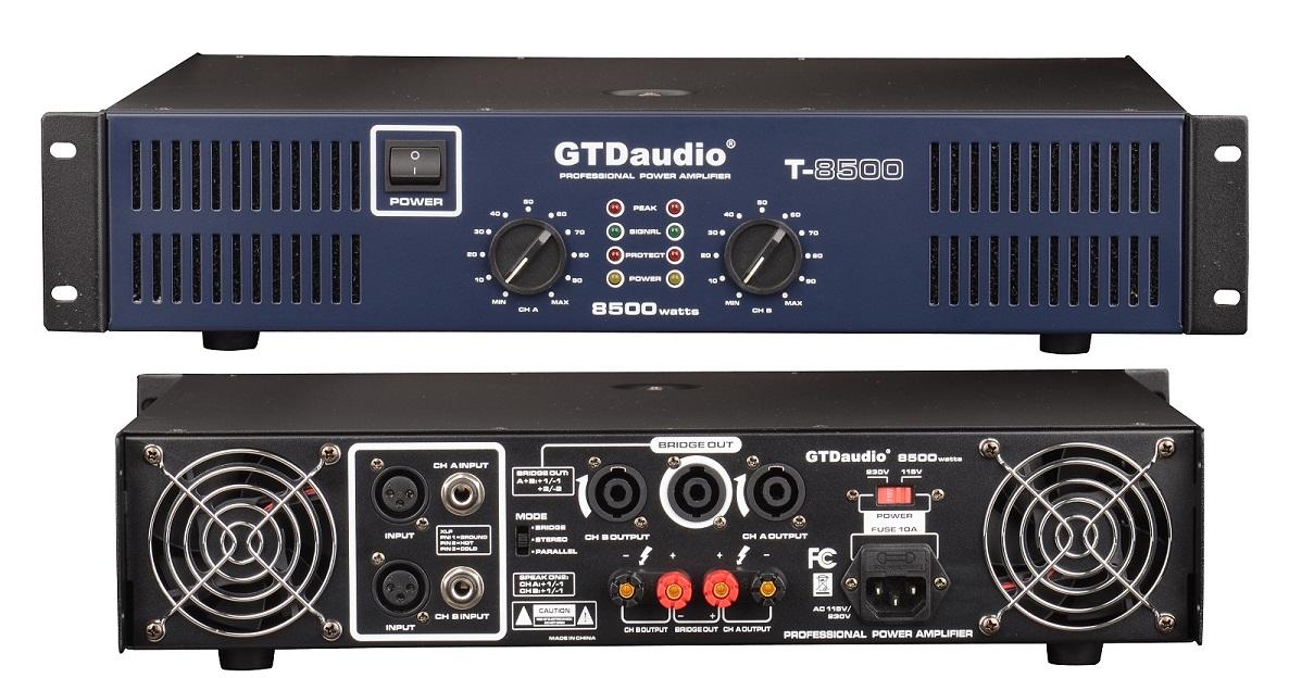 GTD Audio 2x450 Watts Professional Stereo Power Amplifier