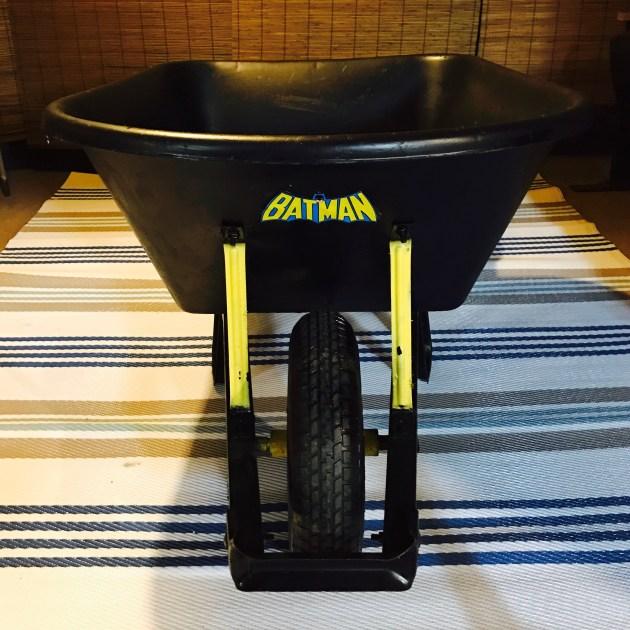 Even Batman needs a Wheelbarrow