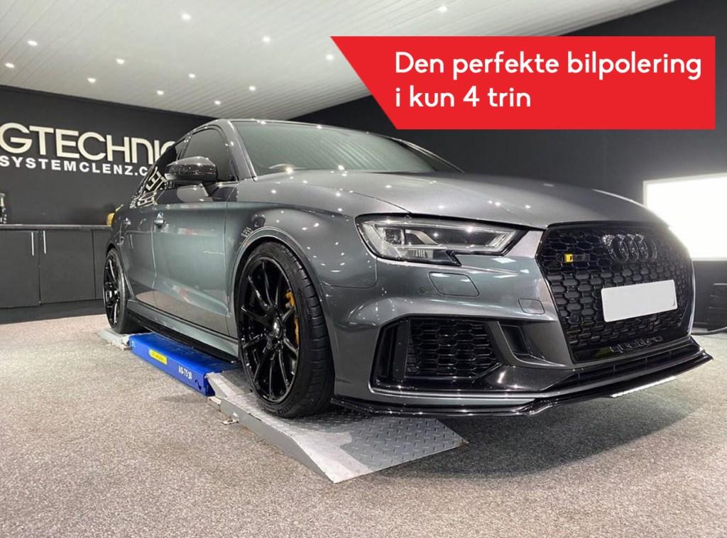 keramisk coating bilpolering
