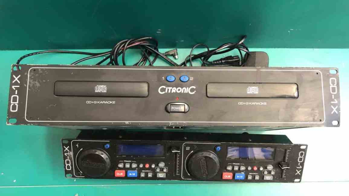 Citronic CD1X Dual DJ CD Player